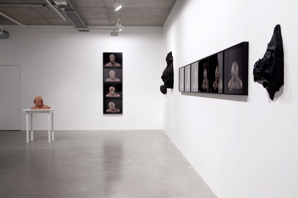 <p>Tim Silver <em>Everything in its right place,</em> 2011 installation view</p>