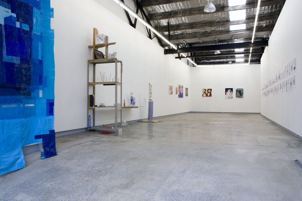 <em>group show</em> 2009 installation view