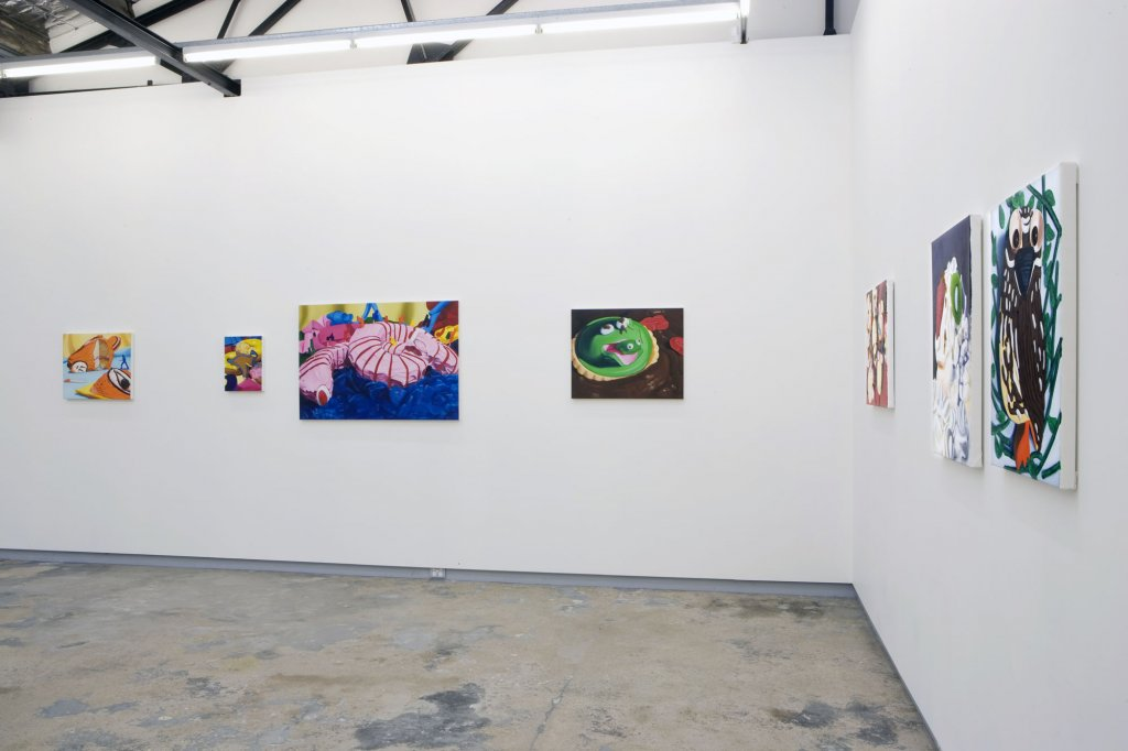 group show 2009 Monika Behrens installation view