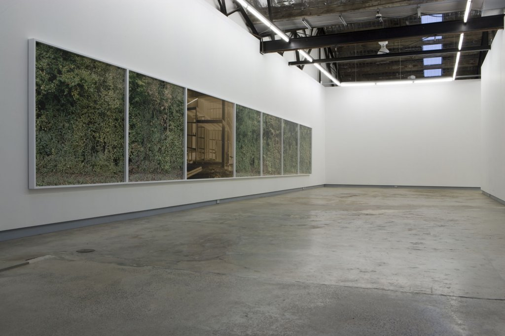 Debra Phillips <em>Backwash</em> series (installation view) 2009 pigment print, on rag paper 7 panels, 150 x 150 cm each