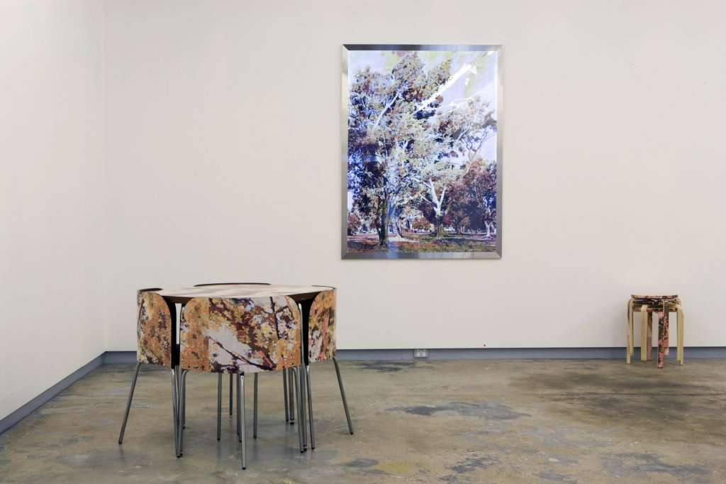 Gary Carsley | <em>Bark Art</em> (installation view) 2009
