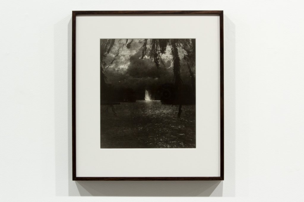 <div>Jane Brown, <em>Lake Burley Griffin, Canberra</em>, 2011–13, toned, fibre-based, gelatin silver print, 50 x 44 cm frame, 32 x 27.5 image, edition of 7</div>