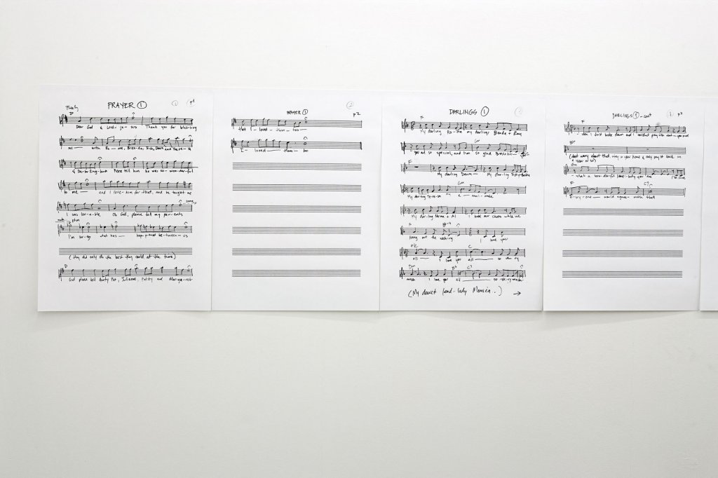 Kate Murphy <em>The note, </em>2010 Installation view