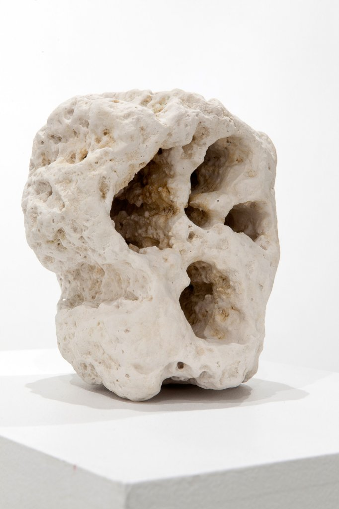 Tim Silver, <em> Untitled (found rock) </em> , 2013,   Forton MG, 17.5 x 14 x 17 cm <!--EndFragment-->