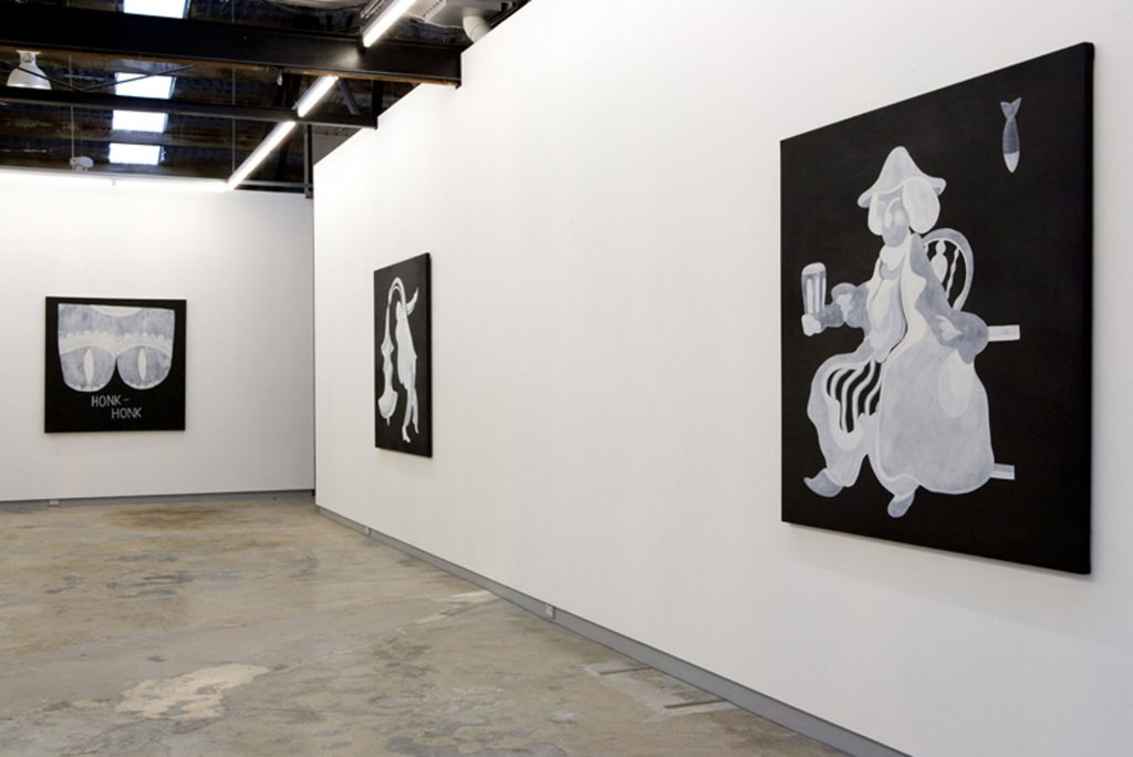 Mitch Cairns <em>Written and recorded by Ringo Starr</em> 2008 installation view