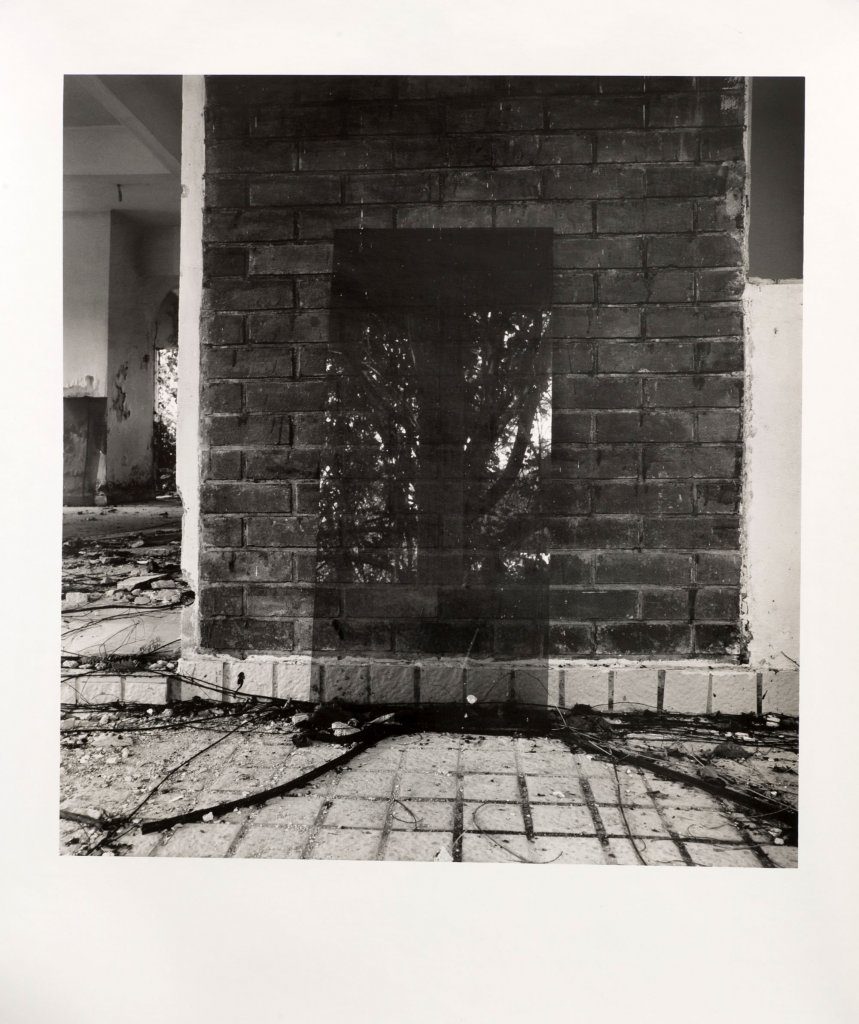 Simryn Gill <em>My own private Angkor 25 </em>2007–9 silver gelatin photographs 69 x 61 cm
