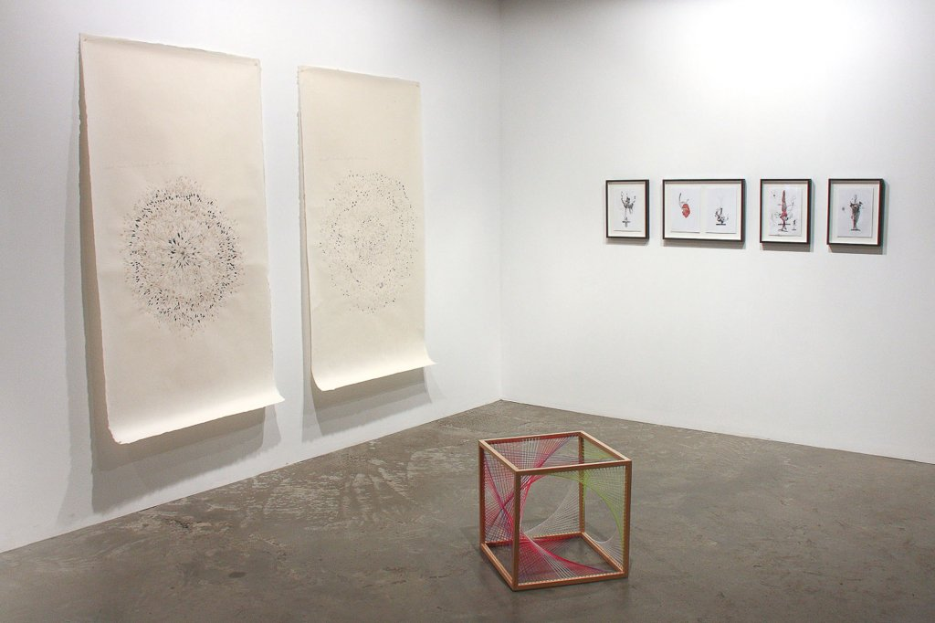"<p class=""p1""><em>The Drawing Room</em>, 2012, installation view</p>"